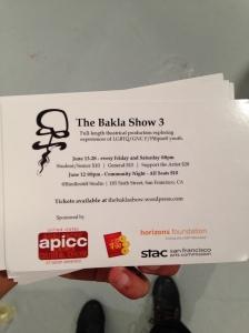The Bakla Show 3 Postcards